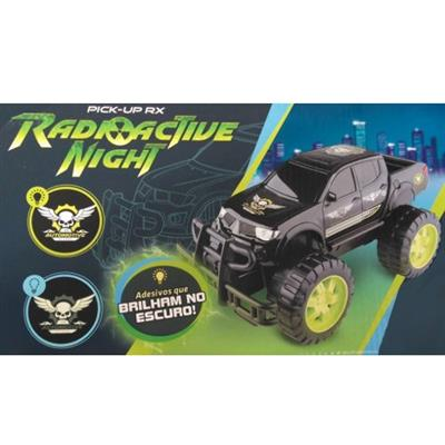 Carro Pick Up RX Radioactive Night Roma Jensen 1179 Plástico