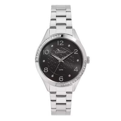 Relógio Feminino Condor CO2035KVZ/3P Analógico Pulseira de Aço Prata