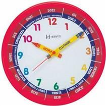 Relógio de Parede Herweg 6690/269 Vermelho