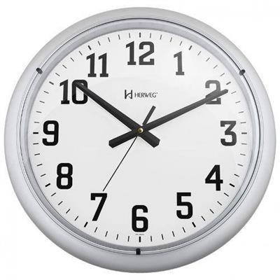 Relógio de Parede Herweg 6129/070 Prata