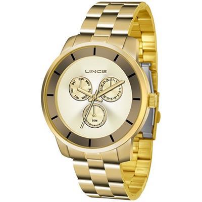 6c4511a636e Relógio Feminino Lince LMG4478L C1KX Analógico Pulseira de Aço ...