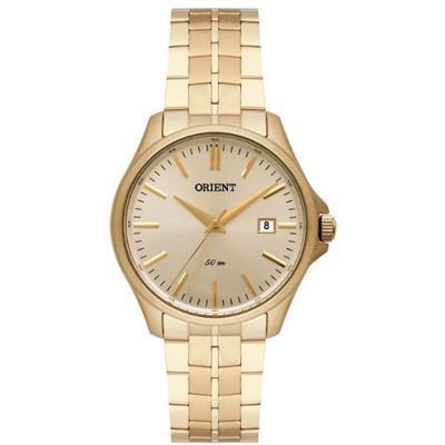 Relógio Feminino Orient FGSS1153 K1KX Analógico Pulseira de Aço Dourado