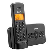 Telefone Sem Fio Elgin TSF800SE com Agenda Viva Voz e Acesso Remoto Preto