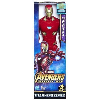 Boneco Vingadores Homem de Ferro Hasbro E1410 Plástico 30cm