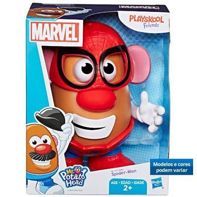 Boneco Mr Potato Head Marvel Hasbro E2417 Plástico 19cm Cores e Modelos Variados