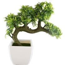 Vaso com Planta Artificial para Ornament