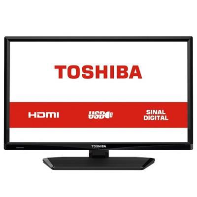 TV Monitor 24 Led HD TCL L24L1700 1 HDMI 1USB 60Hz Preto