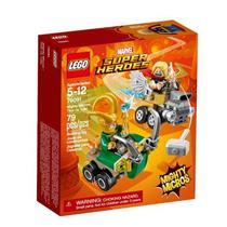 Brinquedo Lego Super Heroes Mighty Micros Thor versus Loki 76091 Plástico