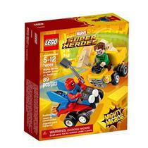 Brinquedo Lego Super Heroes Mighty Micros Homem Aranha versus Homem Areia 76089 Plástico