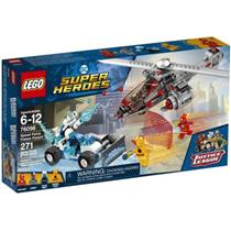 Brinquedo Lego Super Heroes Perseguição Congelante em alta Velocidade 76098 Plástico