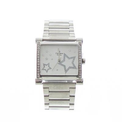 Relógio Feminino Champion CH24348D Analógico Pulseia de Aço com Kit