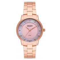 Relógio Feminino Orient FRSS0035 R1RX Analógico Pulseira de Aço Cobre