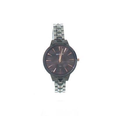 Relógio Feminino Seculus 77029LPSVSS3 Analógico Pulseira de Aço Prateado