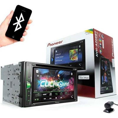 DVD PLAYER P/AUTO PIONEER AVH-A208BT