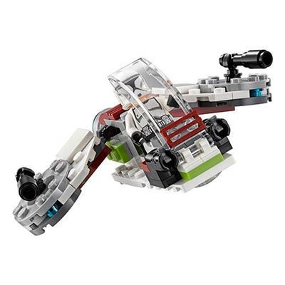 7c8bf2841ee48f BRINQUEDO LEGO STAR WARS CONJUNTO DE COMBATE JEDI E CLONE TROOPERS 75206