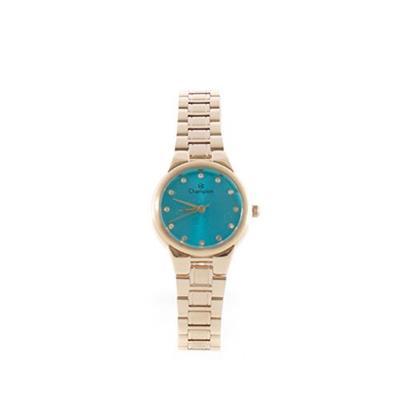 Relógio Feminino Champion CH24946F Analógico Pulseira de Aço Dourado