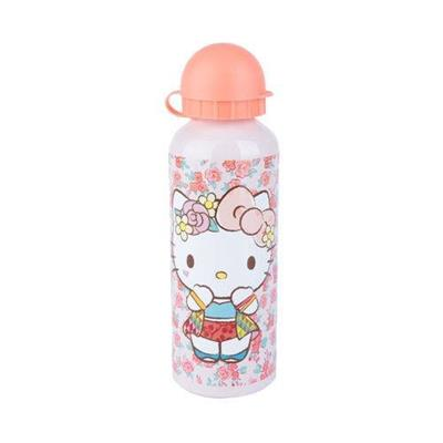 SQUEEZE URBAN HELLO KITTY ROSE LACE FD ROSA 6,5 X 6,5 X 21 CM 500ML