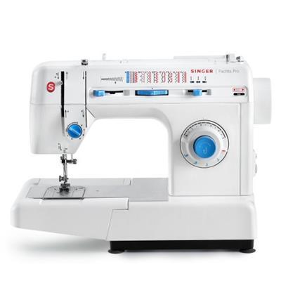 Máquina de Costura Singer Facilita Pro 2918 110V 220V Aço Inox Branco