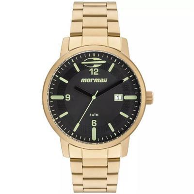 de504692e22 Relógio Feminino Mormaii MO2115BC 4P Analógico Pulseira de Aço Dourado