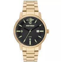 85b1b04d84d Relógio Feminino Mormaii MO2115BC 4P Analógico Pulseira de Aço Dourado