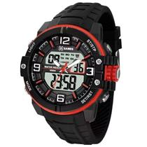Relógio Masculino X-Games XMPPA228 BXPX Digital Pulseira de Silicone
