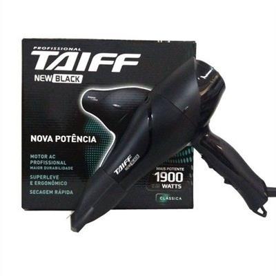 SECADOR TAIFF NEW BLACK 127V 1900W