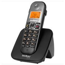 Telefone Sem Fio Intelbrás TS5120 com Identificador de Chamada e Viva-voz Preto