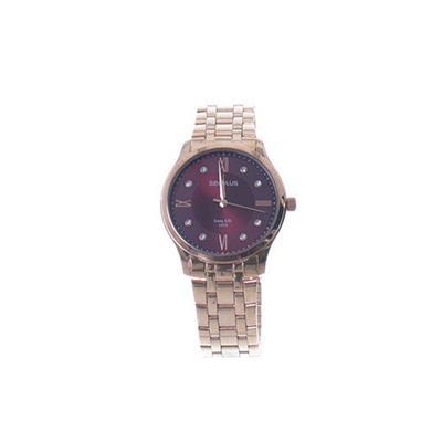 Relógio Feminino Seculus 77007LPSVRA3 Analógico Pulseira de Aço Dourado
