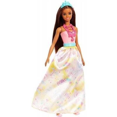 Boneca Barbie Princesa Mattel FJC94 Cores e Modelos Variados