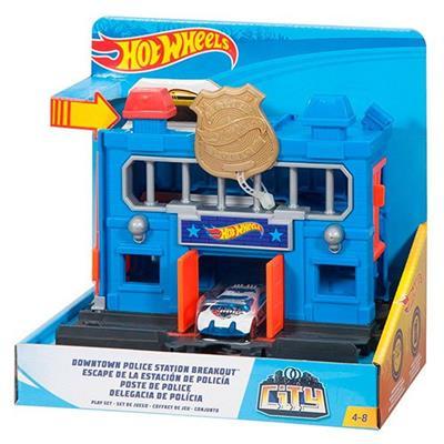 Conjunto Hot Wheels City Básico Mattel FMY95 Cores e Modelos Variados