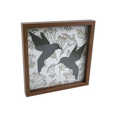 QUADRO URBAN DOUBLE LAYER BIRDS VERDE