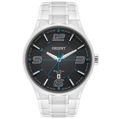 Relógio Masculino Mondaine MBSS1307 G2SX Analógico Pulseira de Aço Prata