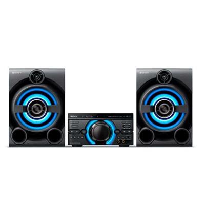 Aparelho de Som System Sony MHC-M60D 1.600W Bluetooth USB com Controle Remoto Preto