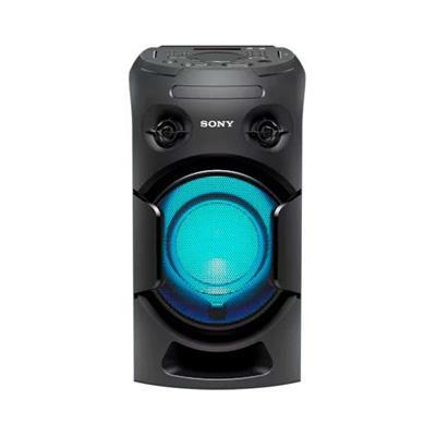 Aparelho de Som System Sony MHC-V21D 70W Bluetooth USB com Controle Remoto Preto