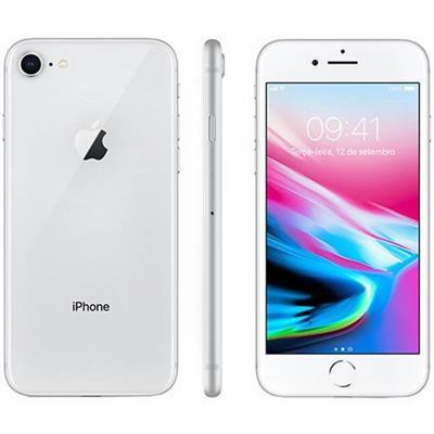 SMARTPHONE LIVRE APPLE IPHONE 8 64GB, TELA 4,7 CÂMERA 12MP + 7MP, IOS 11, PRATA
