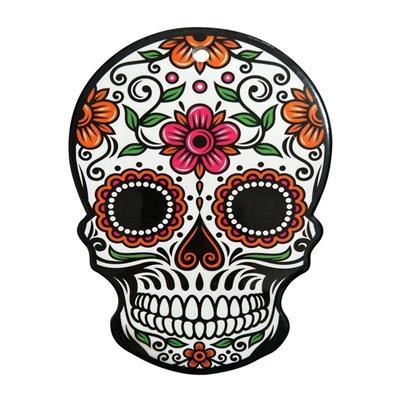 DESCANSO PANELA URBAN MEXICAN SKULL COLORIDA