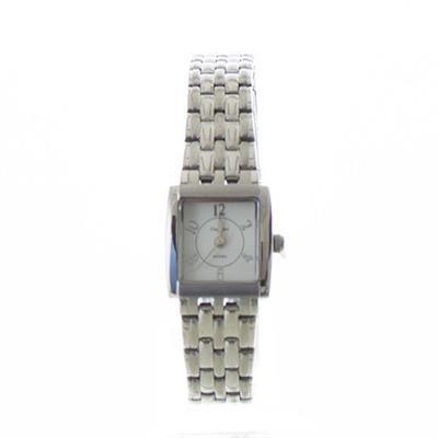 Relógio Feminino Champion CA28636D Analógico com Kit de Joias Pulseira de Aço Prateado