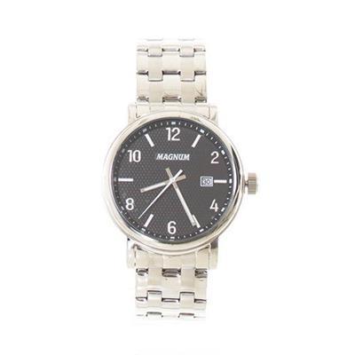 Relógio Masculino Magnum MA3461OC Analógico Pulseira de Aço com Kit