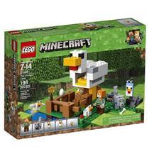 BRINQUEDO LEGO MINECRAFT O GALINHEIRO 21140