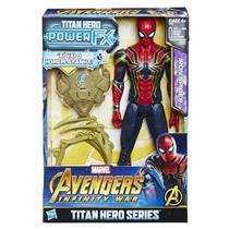 Boneco Marvel Avengers Power Pack Homem Aranha Hasbro E0608 Plástico 30cm 03fa0360c59