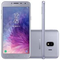 "Smartphone Samsung Galaxy J4 J400 4G 2 Chips 32GB Tela 5.5"" Câmera 13MP Frontal 5MP Android 7.1 Prata"