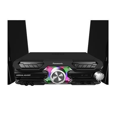 Aparelho de Som System Panasonic SC-MAX3500LB 2.000W Bluetooth 2 USB com Controle Remoto Preto