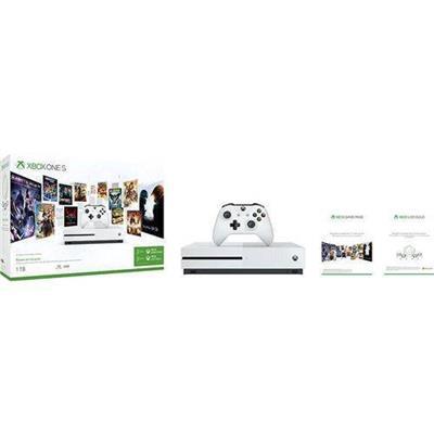 Console Microsoft Xbox One S 1TB 3 Meses De Live Gold + 3 Meses De Gamepass