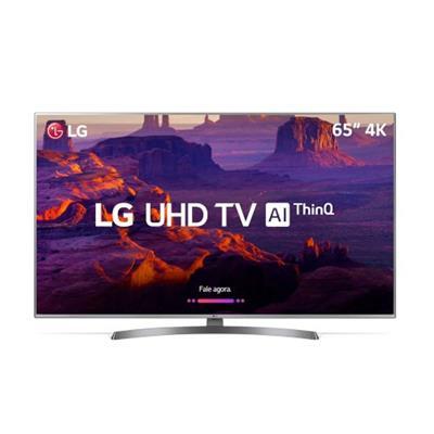 Smart TV LG 65'' Ultra HD 65UK6540PSB USB HDMI Wi-Fi 120Hz