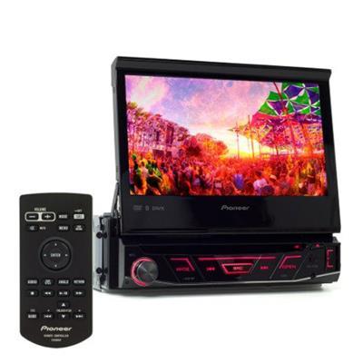 DVD PLAYER PIONEER AVH-3180BT COM CONTROLE REMOTO PRETO