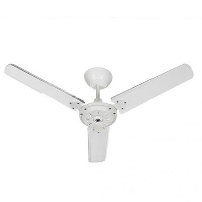 Ventilador de Teto Tron Ecosan 51011013 130W 127V Branco