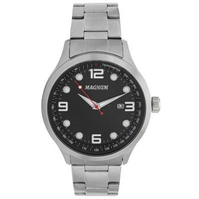 Relógio Masculino Magnum MA33013T Analógico Pulseira de Aço Prata ... fd831ae228