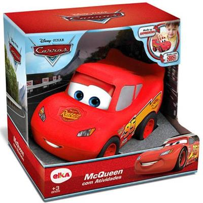 Carro McQueen com Atividades Elka 999