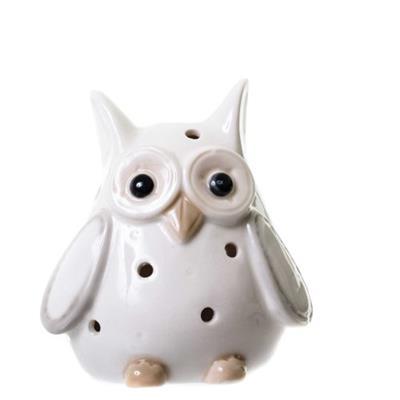 Adorno Coruja Latcor LRP16B608-2 Porcelana