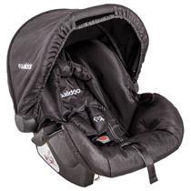 Bebê-Conforto Kiddo Cozycot Click 416 Cinto de Segurança com 3 Pontos Preto e Cinza